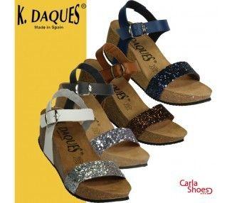 K DAQUES SANDALE - CAMELLIS