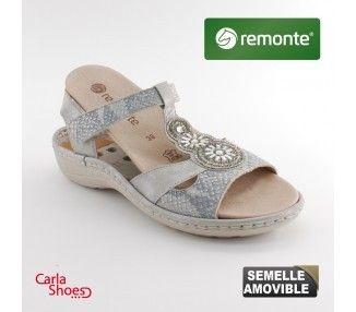 REMONTE SANDALE - D7645 - D7645 -  - Femme,FEMME ETE: