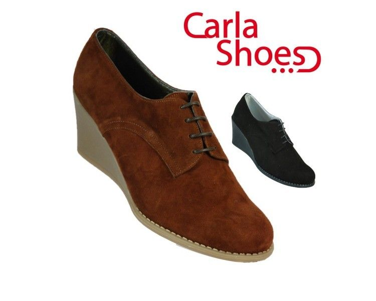 CARLA SHOES DERBY - DRBY