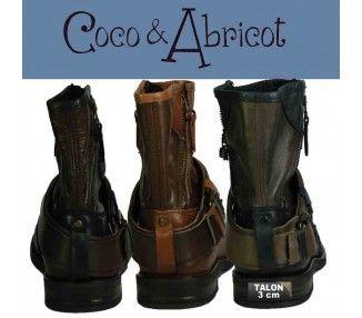 COCO ABRICOT BOOTS - 171
